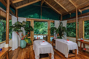Spa Treatments at Pacuare Lodge