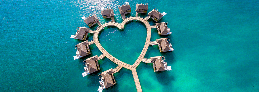 Sandals Caribbean Over Water Bungalows